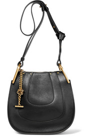 Hayley mini textured-leather shoulder bag