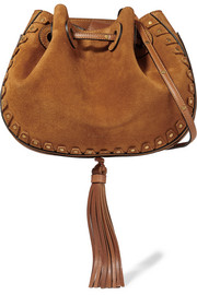 Chloé Inez small suede shoulder bag