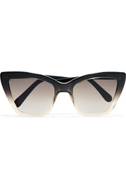 Calvi cat-eye acetate sunglasses