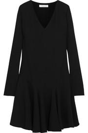 Chloé Drop-waist crepe mini dress