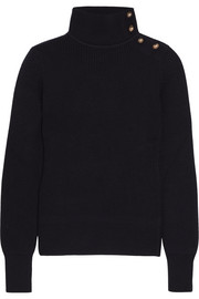 Chloé Embellished wool turtleneck sweater