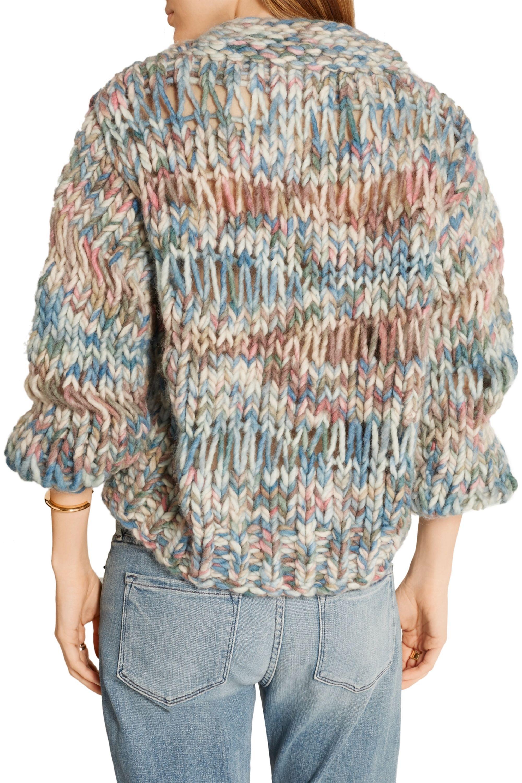 Chloé 粗针织羊毛毛衣