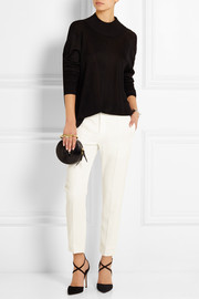 Chloé Crepe de chine straight-leg pants