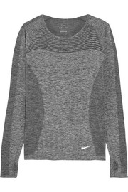 Dri-FIT Knit stretch-jersey top