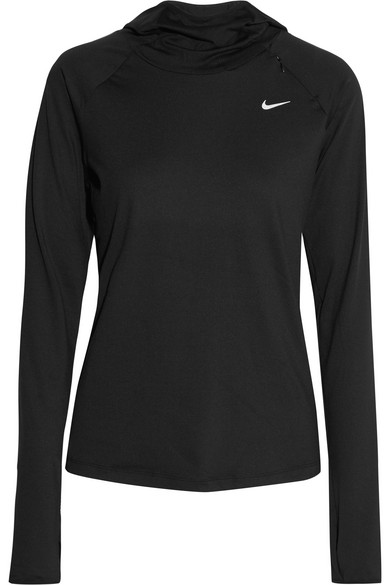 e9c9716b60f Nike. Element Dri-FIT stretch-jersey hooded top