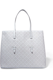 Arabesque studded leather tote