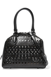 Alaïa Vienne mini laser-cut leather shoulder bag