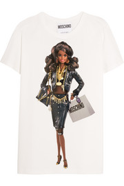 Moschino Barbie™-print cotton-jersey T-shirt
