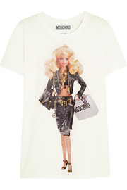 Barbie™-print cotton-jersey T-shirt