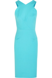 Roland Mouret Wilton stretch cotton-canvas dress