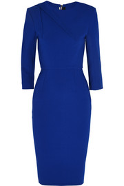 Hisley stretch-crepe dress