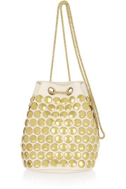 Popeye studded leather shoulder bag
