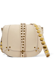 Victor embellished leather shoulder bag