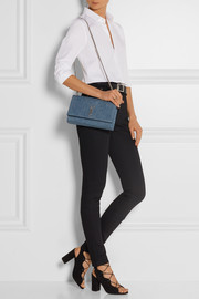 Monogramme medium denim shoulder bag
