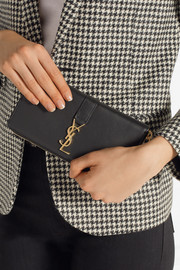 YSL Line leather wallet