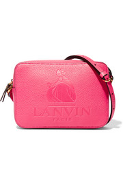 Lanvin Nomad embossed textured-leather shoulder bag