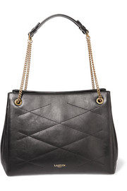 Sugar medium quilted leather shoulder bag