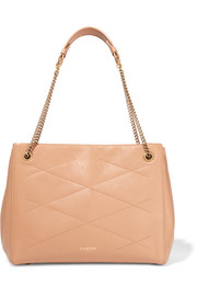 Sugar Work medium quilted leather shoulder bag