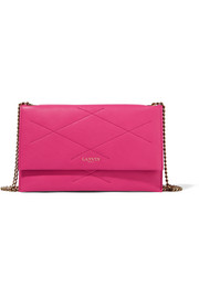 Lanvin Quilted leather shoulder bag