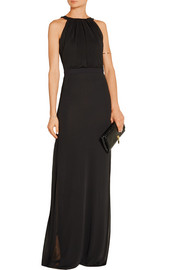 Emilio Pucci Ruched stretch-jersey gown