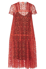 Andrea guipure lace dress