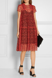 Preen by Thornton Bregazzi Andrea guipure lace dress