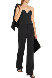 Chalayan Signature stretch-crepe bustier top