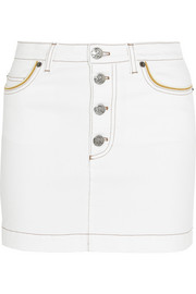 Sonia Rykiel Stretch-denim mini skirt