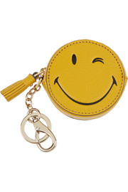 Wink leather keychain