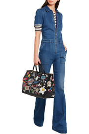 Anya Hindmarch Ebury Maxi All Over Stickers leather tote