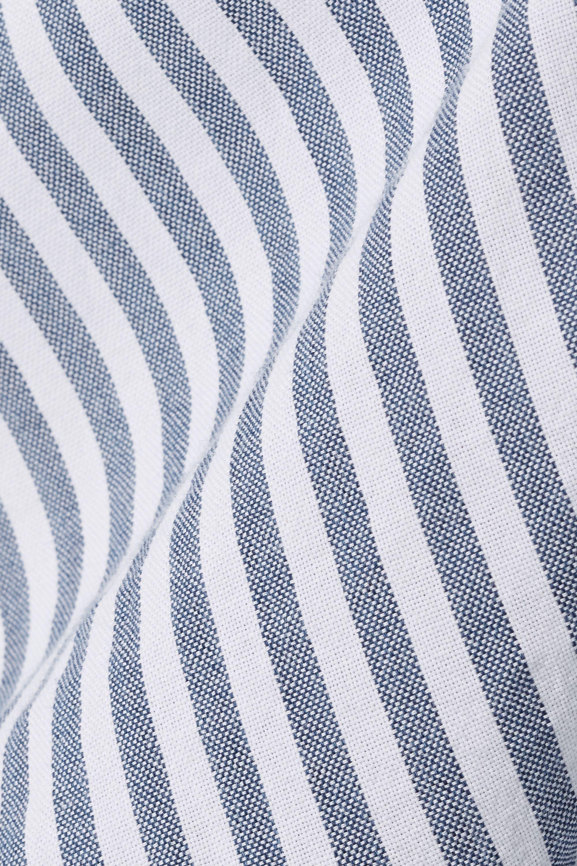 Madewell Striped cotton-chambray shirt