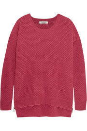 Bramble textured cotton-blend sweater