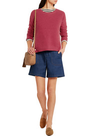 Madewell Bramble textured cotton-blend sweater