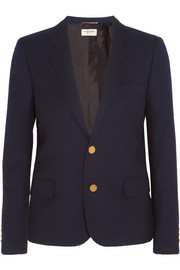 Saint Laurent Wool-twill blazer