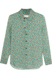 Prairie printed satin shirt