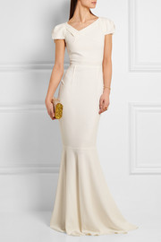 Roland Mouret Marilla stretch-crepe gown