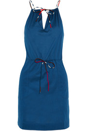 Eres Julie cotton-jersey halterneck mini dress