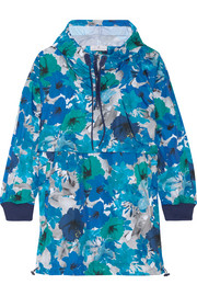 Adidas by Stella McCartney Running Blossom floral-print shell hooded jacket
