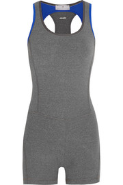 Adidas by Stella McCartney Studio cutout Climalite® stretch-jersey bodysuit