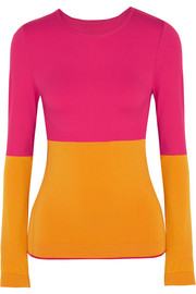 Adidas by Stella McCartney Paneled Climalite® stretch top