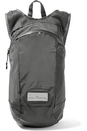 Shell and mesh backpack