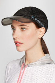 Adidas by Stella McCartney Printed stretch-mesh cap