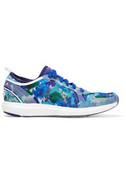 Adidas by Stella McCartney Climacool Sonic rubber-paneled printed mesh sneakers