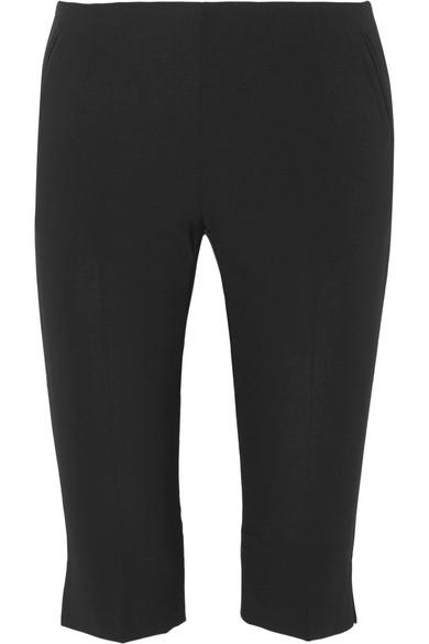 La Paz Cropped Stretch Wool Skinny Pants by Totême