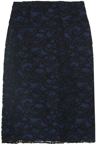 Nina Ricci - Cornelli Lace Skirt - Black