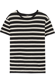 Boy striped cotton and cashmere-blend T-shirt