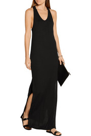 Classic racer-back jersey maxi dress