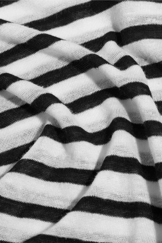 alexanderwang.t Striped jersey T-shirt
