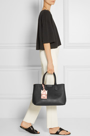 Karl Lagerfeld Textured-leather tote