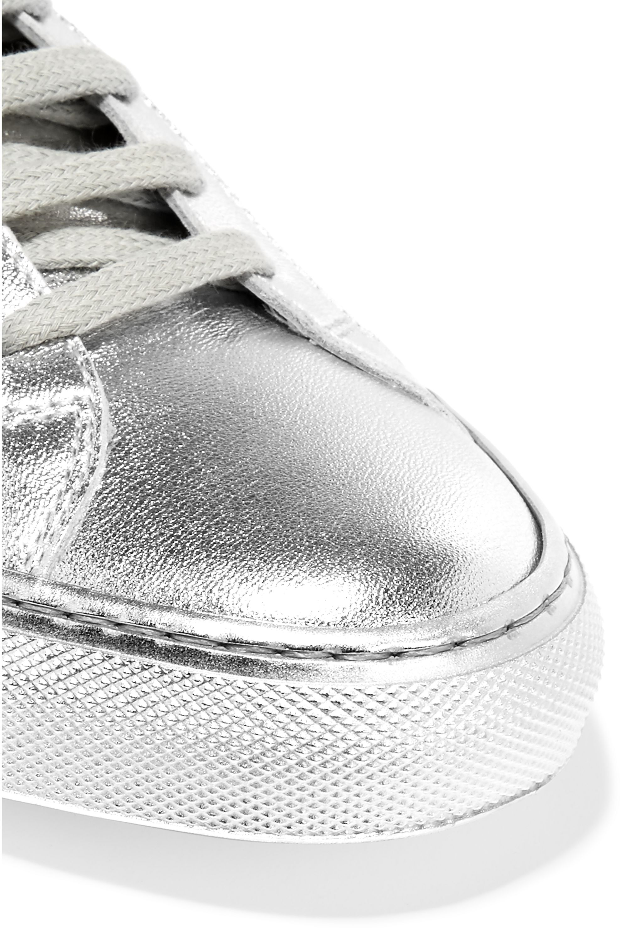 Common Projects Original Achilles metallic leather sneakers